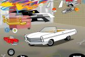 Играть Тюнингуй мой классический автомобиль онлайн флеш игра для детей