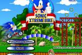 Играть Соник Экстремальный Байкер онлайн флеш игра для детей