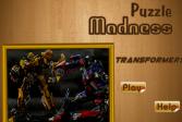 Играть Трансформеры: Безумные пазлы онлайн флеш игра для детей