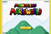Играть Монолитный мир Марио онлайн флеш игра для детей