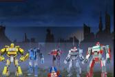 Играть Лего: Трансформеры онлайн флеш игра для детей