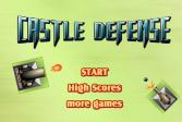 Играть Оборона замка онлайн флеш игра для детей