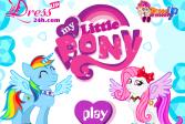 Играть Моя маленькая пони онлайн флеш игра для детей