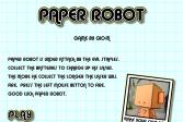 Играть Бумажный Робот онлайн флеш игра для детей