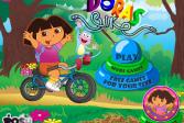 Играть Дора: Байк онлайн флеш игра для детей