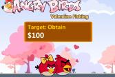 Играть Злые птицы на рыбалке Валентин день онлайн флеш игра для детей