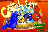 Играть Поймай кур, если сможешь онлайн флеш игра для детей