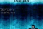 Играть Космический Лабиринт онлайн флеш игра для детей