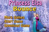 Играть Принцесса Эльза: отскок онлайн флеш игра для детей