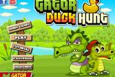 Играть Крокодильчик Свомпи: Утиная охота онлайн флеш игра для детей