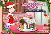 Играть Кухня Сары: пряничный домик онлайн флеш игра для детей