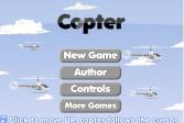 Играть Леталка на вертолете онлайн флеш игра для детей