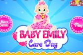 Играть Уход за Крошкой Эмили онлайн флеш игра для детей