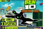 Играть Бен 10 Атака Города онлайн флеш игра для детей