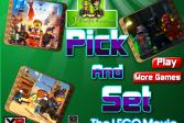 Играть Мультфильм Лего онлайн флеш игра для детей