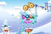 Играть Даша Небесный Прыжок онлайн флеш игра для детей