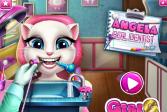 Играть Говорящая Анжела: Поход к дантисту онлайн флеш игра для детей