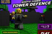 Играть Лего Зомби онлайн флеш игра для детей