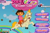 Играть Даша и Единорог онлайн флеш игра для детей