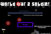 Играть Мировая война 2 Солдат онлайн флеш игра для детей