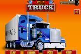 Играть Тюнинг грузовика онлайн флеш игра для детей