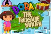 Играть Даша ищет сокровища онлайн флеш игра для детей
