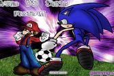 Играть Марио против Соника: футбол онлайн флеш игра для детей