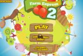 Играть Фермерский экспресс 2 онлайн флеш игра для детей