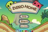 Играть Дино Дома онлайн флеш игра для детей