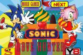 Играть Соник - охотник за любовью онлайн флеш игра для детей
