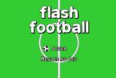 Играть Футбол на двоих: Тренировка онлайн флеш игра для детей
