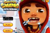 Играть Зубные проблемы Сабвей Серф онлайн флеш игра для детей