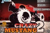 Играть Сумасшедший Мустанг 2 онлайн флеш игра для детей