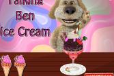 Играть Говорящий Бен: Мороженое онлайн флеш игра для детей