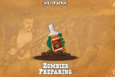 Играть Зомби Текила онлайн флеш игра для детей