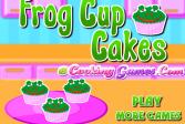 Играть Кексы-лягушки онлайн флеш игра для детей