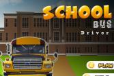 Играть Водитель школьного автобуса онлайн флеш игра для детей