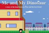 Играть Я и мой динозавр онлайн флеш игра для детей