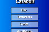 Играть Катапульта онлайн флеш игра для детей