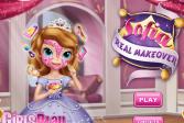 Играть Настоящий макияж Софии онлайн флеш игра для детей