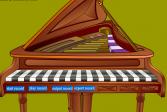 Играть Пианино онлайн флеш игра для детей