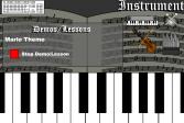 Играть Виртуальное пианино онлайн флеш игра для детей
