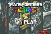 Играть Трансформеры: тетрис онлайн флеш игра для детей