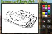 Играть Раскраски: Тачки онлайн флеш игра для детей