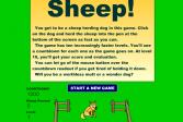 Играть Овцы! онлайн флеш игра для детей