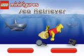 Играть Лего: Минифигурки ретривер в море онлайн флеш игра для детей
