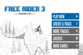 Играть Свободный гонщик 3 онлайн флеш игра для детей