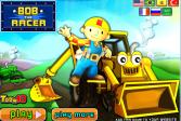 Играть Боб строитель: Гонщик Боб онлайн флеш игра для детей
