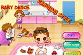 Играть Гангнам Стайл: Танцы ребенка онлайн флеш игра для детей