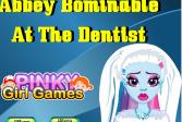 Играть Монстер Хай: Лечить зубы Эбби Боминейбл онлайн флеш игра для детей